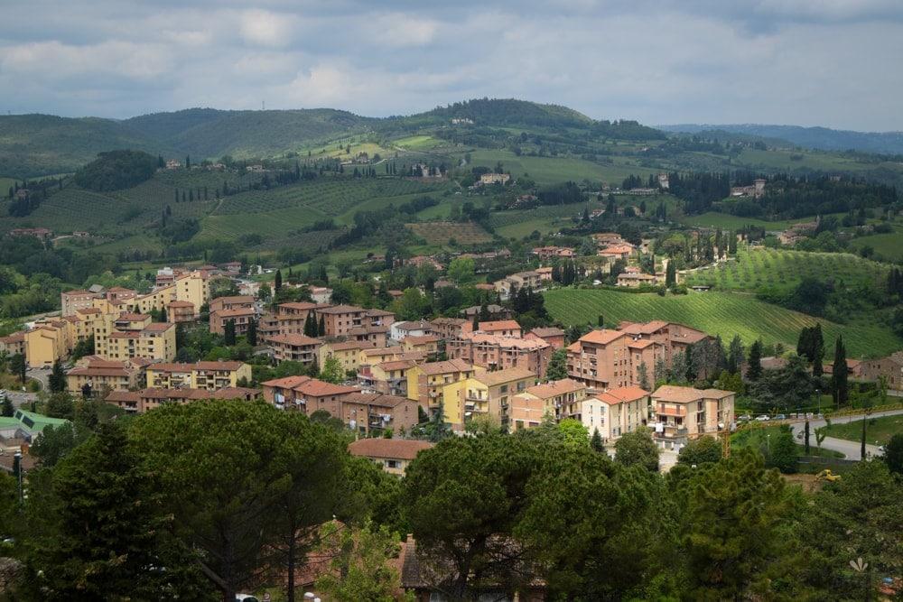 San_Gimignano_Toskansko