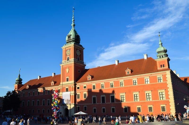 Zamek Krolewski w Warszawie / Kráľovský zámok na Zámockom námestí