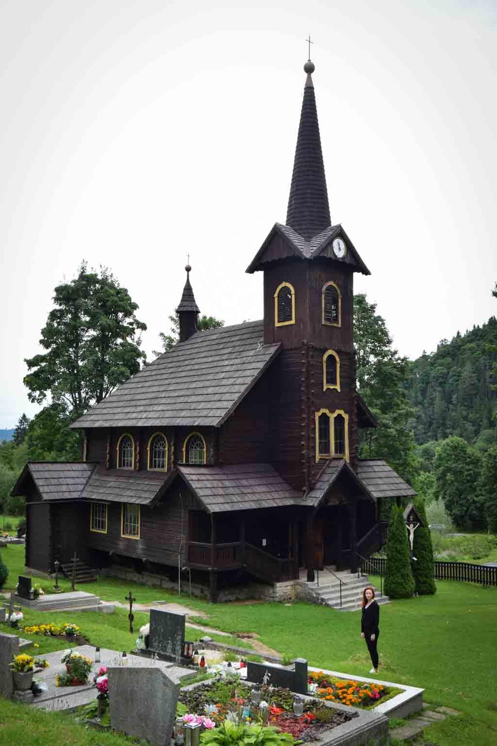 Drevený kostol v Tatranskej Javorine